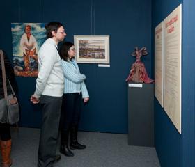 Slezsko v pohádkách a pověstech – výstava v Památníku Petra Bezruče<br>Copyright: Marcela Feretová (Slezské zemské muzeum)