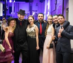 Reprezentační ples Ostravské univerzity 2019 ve Starých koupelnách (Brick House) Dolu Hlubina v Dolní oblasti Vítkovic.