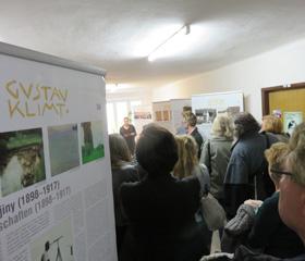 Vernisáž výstavy Gustav Klimt – Průkopník moderny