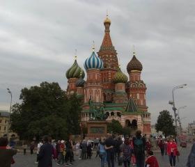 V Moskve na pár okamihov