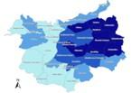 Ukázky map vytvořených studenty a učiteli KSG