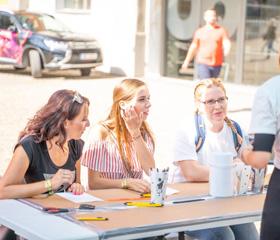 The University of Ostrava Stirred up the Colours of Ostrava<br>Author: Martin Kopáček