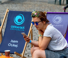 The University of Ostrava Stirred up the Colours of Ostrava<br>Author: Martin Kopáček