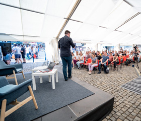 UNIVERcity stage Ostravské univerzity na festivalu Colours of Ostrava a diskuzním fóru Meltingpot 2019Autor Martin Kopáček