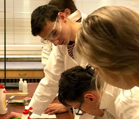 Přírodovědecká fakulta hostila nadané studenty z celého Česka