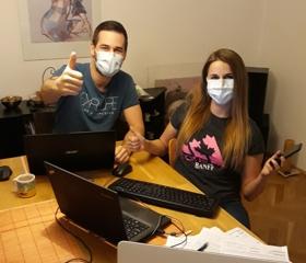Studenti ostravské lékařské fakulty pomáhají nemocnicím i krajské hygienické stanici