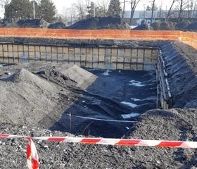 Aktuální snímky z výstavby nové budovy Fakulty umění