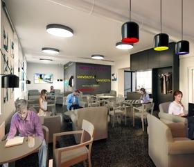 Ta bude sloužit nejen veřejnosti, ale také studentům jako odpočinková místnost.