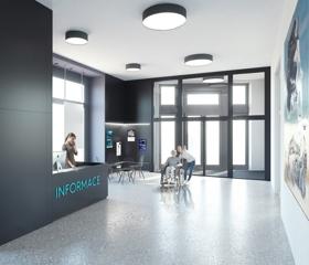 Rekonstrukce ve Welcome centru (budova G) má proběhnout v létě, s novým semestrem už by se studneti měli vrátit do nových prostor.