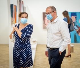 Návštěvníci koncertu si mohli prohlédnout galerii GAFU<br>Autor: Martin Kopáček