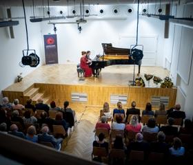 Klavírní koncert k poctě Rudolfa Bernatíka<br>Autor: Martin Kopáček