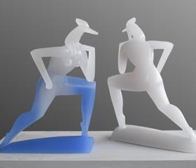 V Ateliéru sochařství FU OU vytvořili novou sadu trofejí pro Český běh žen Ostrava 2021