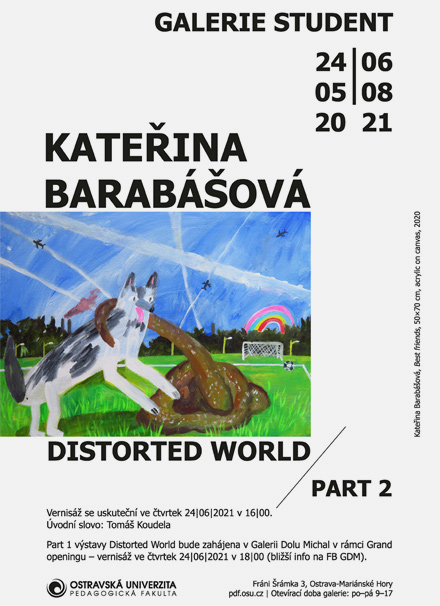 Výstavy v Galerii Student a Galerii Dolu Michal
