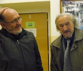 Prof. Piotr Sawicki s prof. Bartošem