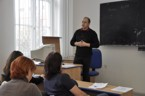 Sekce informatiky - Ing. Pavel Smolka přednáší na téma Tvorba adaptivních testů ve výuce cizích jazyků s využitím ICT