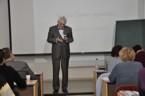 Sekce matematiky - dr. Dag Hrubý přednáší na téma Komplexní čísla