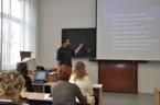 Sekceinformatiky - dr. Hashim Habiballa přednáší na téma Olympiády