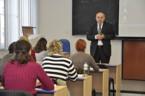 Sekce informatiky - doc. Cyril Klimeš přednáší na téma Kryptografie
