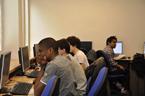 Studenti z Francie na Katedře fyziky PřF OU