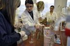 Chemický den pro žáky 9. třídy ZŠ z Velkých Hoštic