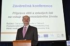 Závěrečná konference projektu Příprava dětí a mladých lidí na vstup do samostatného života