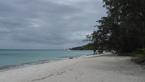 Pláž  ostrova Lizard u výzkumné stanice