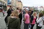 Studenti z Univerzity v Manchesteru na exkurzi v Ostravě