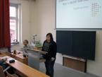 Jiřina Pavlíková seznámila přítomné s Velikonočními a vánočními dramaty v době baroka (1/7)