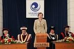 Hovoří předsedkyně AS PřF OU Mgr. Šumberová
