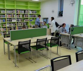 Studovna Pedagogické fakulty a Fakulty sociálních studií