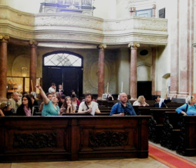 Kutná Hora; v kostele sv. Jana Nepomuckého
