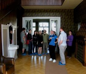 Libodřice - kubistická vila, skvosty v rekonstruovaném interiéru