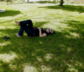 Libodřice; poklady na zahradě Bauerovy vily