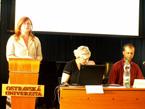 Prorektoka OU, doc. Iva Málková zahajuje konferenci (1/15)