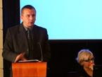 Dr. Wojciech Dominiak z univerzity v Opolí referuje o reflexi Lucemburků v polských dobových pramenech (2/15)