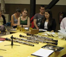 Mezinárodní hobojové kurzy na Fakultě umění OU
