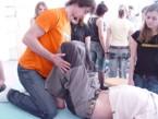 Praktická výuka studentů 3. ročníku Fyzioterapie