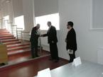 Hydrologický seminář – blahopřání zástupců PřF Univerzity Karlovy v Praze (prof. Bohumír Janský a doc. Jakub Langhammer)