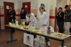 Chemická show na základní škole Chrjukinova v Ostravě - Zábřehu