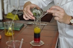 Učitelé chemie si rozšiřují své znalosti