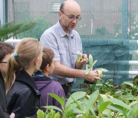 Botanická zahrada Přírodovědecké fakulty se otevřela i školákům<br>Copyright: Marie Opálková