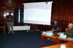 Prezentace příspěvku na konferenci Carpatho-Balcan-Dinaric Conference on Geomorphology 2011 v Ostravici.