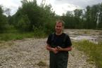 Terénní seminář fluviální geomorfologie v Zakopané 2012 - broďáky v akci