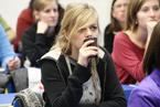 Přednášek se zúčastnil velký počet studentů všeobecného lékařství i nelékařských oborů všechny. Vyslechli je s nevšedním zájmem a kladli i řadu všetečných otázek.  (2/36)