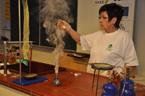 Kouzelné chemické odpoledne pro nadané děti z Ostravska