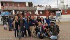 S ostatními zahraničními studenty před výletem na lodi, který nám zorganizovalo město Kuopio na přivítání