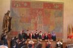 Slavnostní předávání profesorských dekretů ve Velké aule Karolina. (1/3)