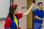 Chemická radost na střední škole Zdeňka Matějčka<br>Copyright: Katedra chemie PřF OU