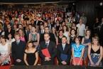 Promoce absolventů PřF OU - 4. července 2013<br>Copyright: Kamila Kolowratová