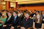 Imatrikulace prváků Přírodovědecké fakulty OU - září 2013